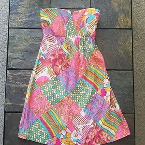 100% Silk Alice and Trixie Brand Sun Dress